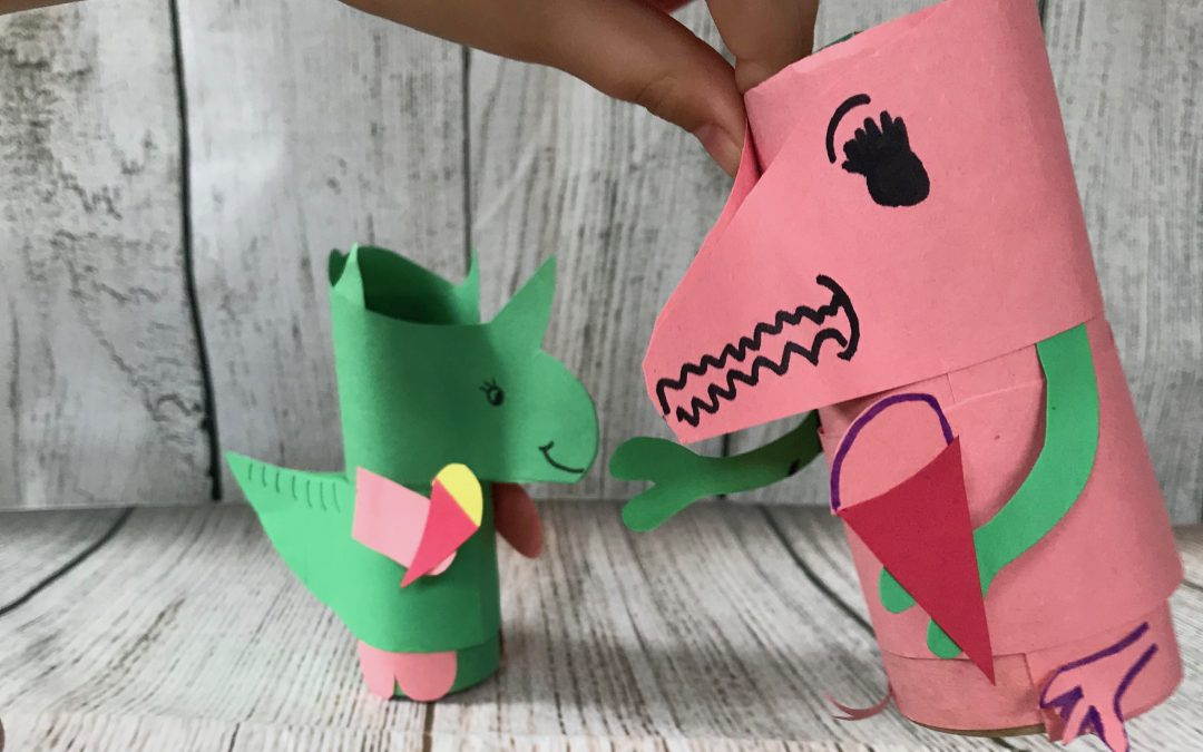 Toilet Roll Dino Craft